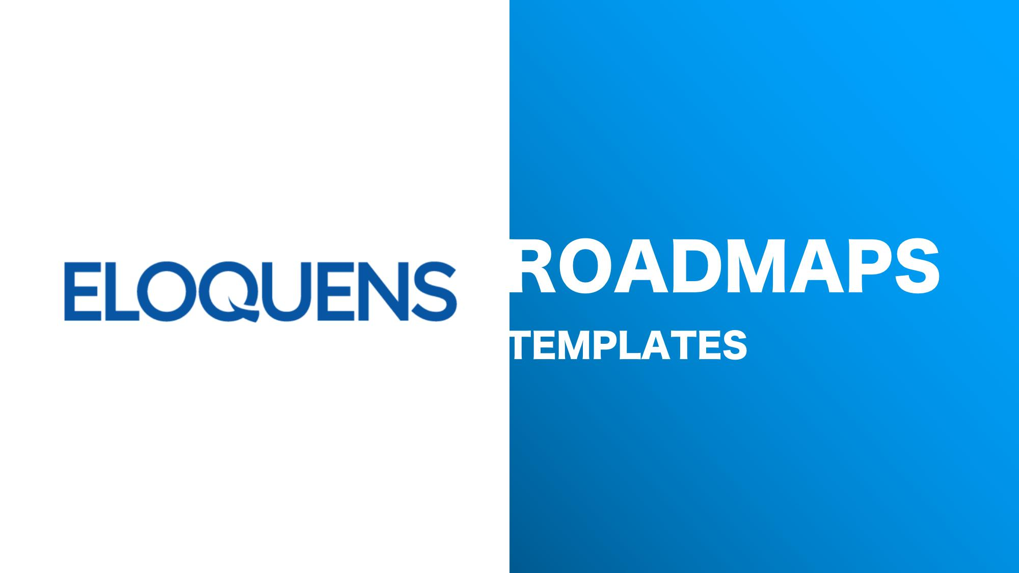 Roadmap Templates in PowerPoint and Excel - Downloads - Eloquens