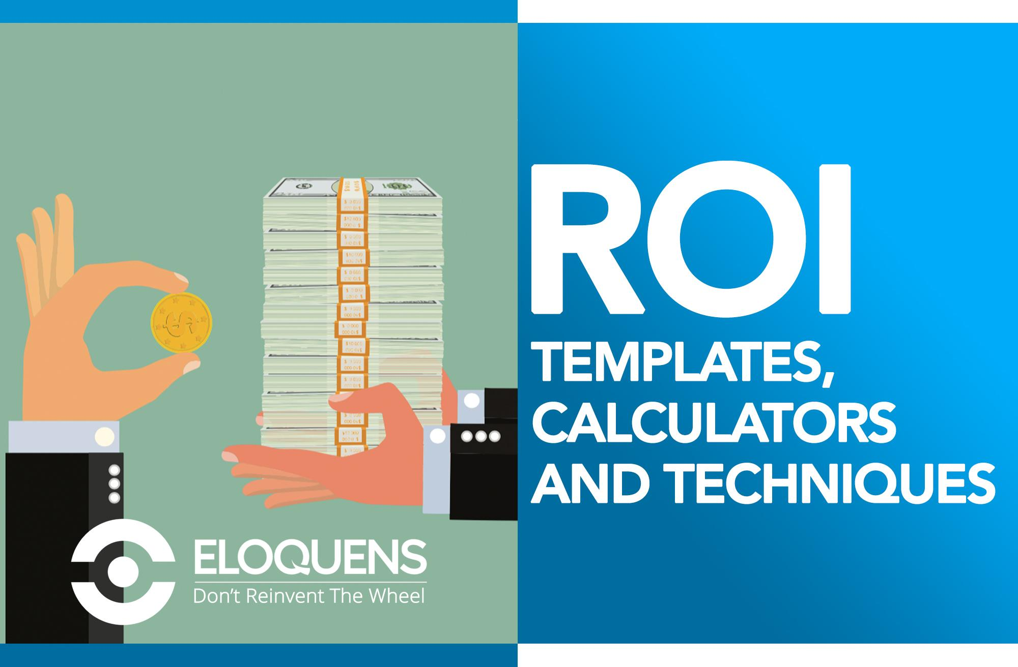Return On Investment ROI Calculator Excel Templates Eloquens